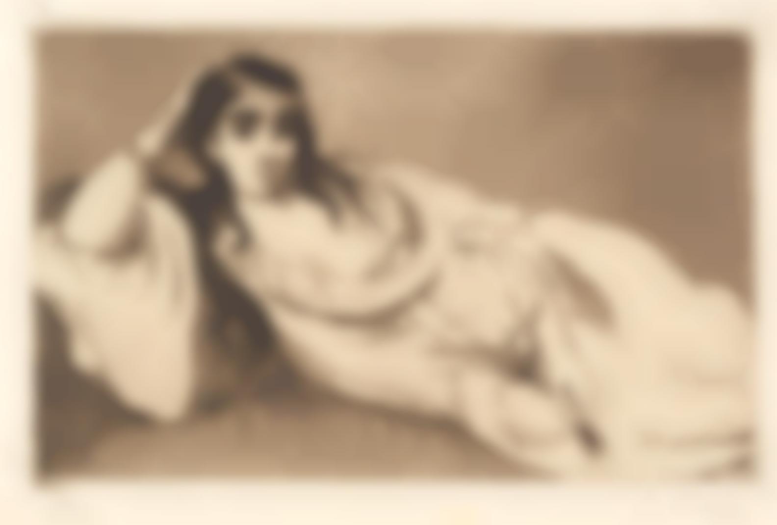 Edouard Manet-Lodalisque (Harris 56; Guerin 64); Berthe Morisot (H.75); Olympia (H.53)-1868