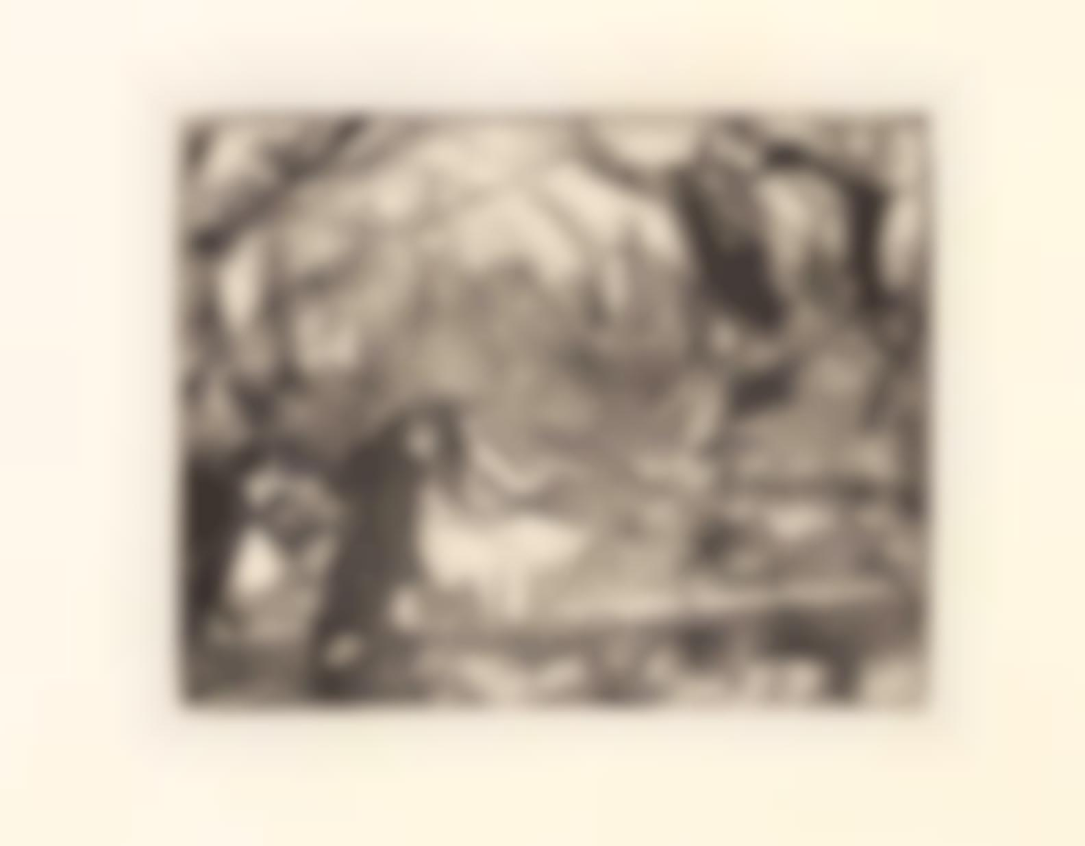 Edgar Degas-Sur La Scene Iii(Delteil 32; Adhemar 26; Reed & Shapero 24)-1877