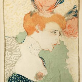 Henri de Toulouse-Lautrec-Mademoiselle Marcelle Lender, En Buste(Delteil 102; Adriani 115; Adhemar 131; Wittrock 99)-1895
