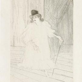 Henri de Toulouse-Lautrec-Cecy Loftus(Delteil 116; Adhemar 105; Wittrock 113)-1895