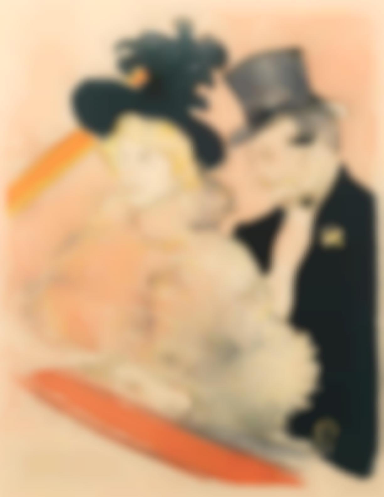 Henri de Toulouse-Lautrec-Au Concert(Delteil 365; Adhemar 199; Wittrock P28)-1896