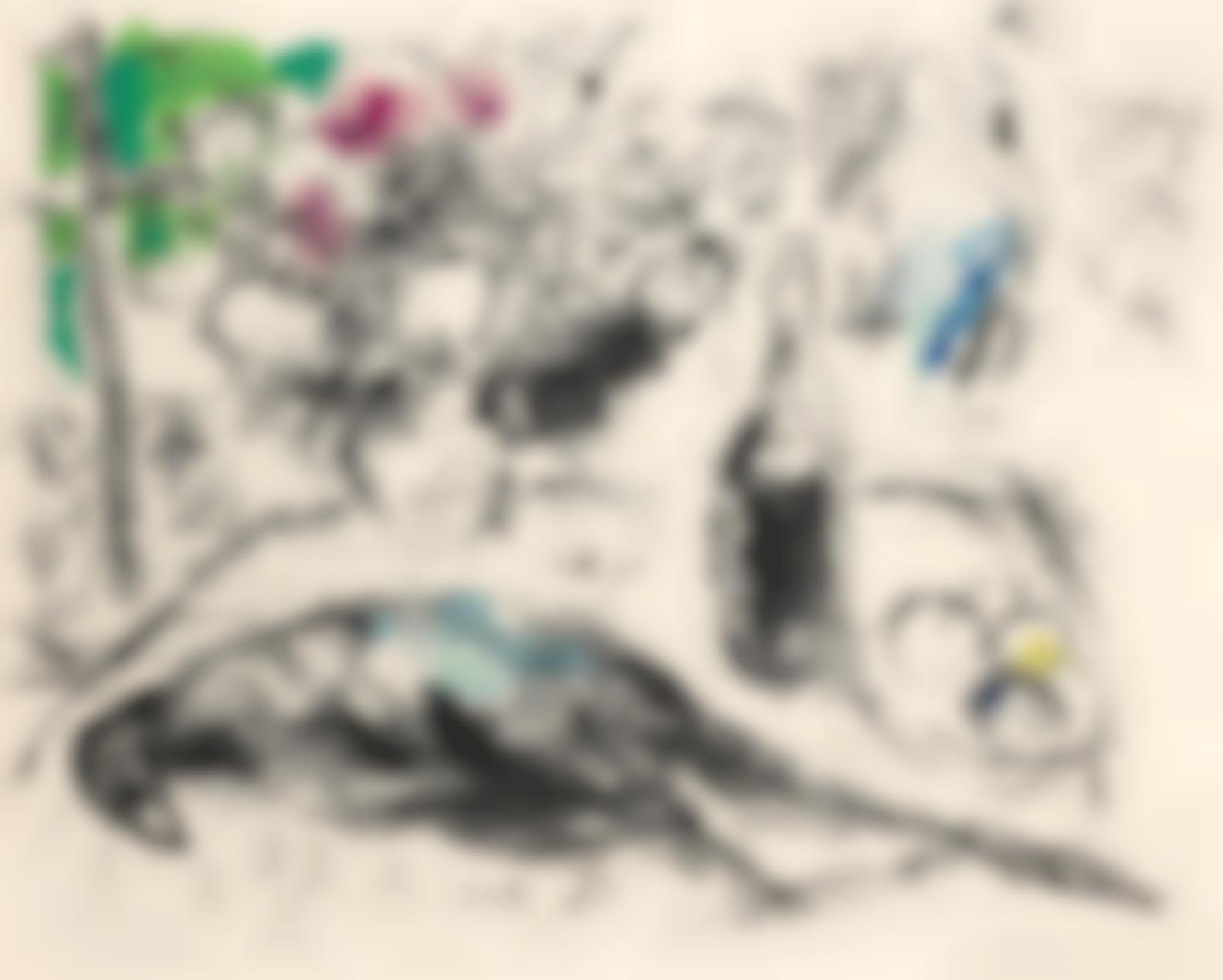 Marc Chagall-Le Faisan (Mourlot 441A)-1960
