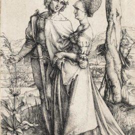 Albrecht Durer-The Promenade (Bartsch 94; Meder, Hollstein 83; Schoch, Mende And Scherbaum 19)-1498