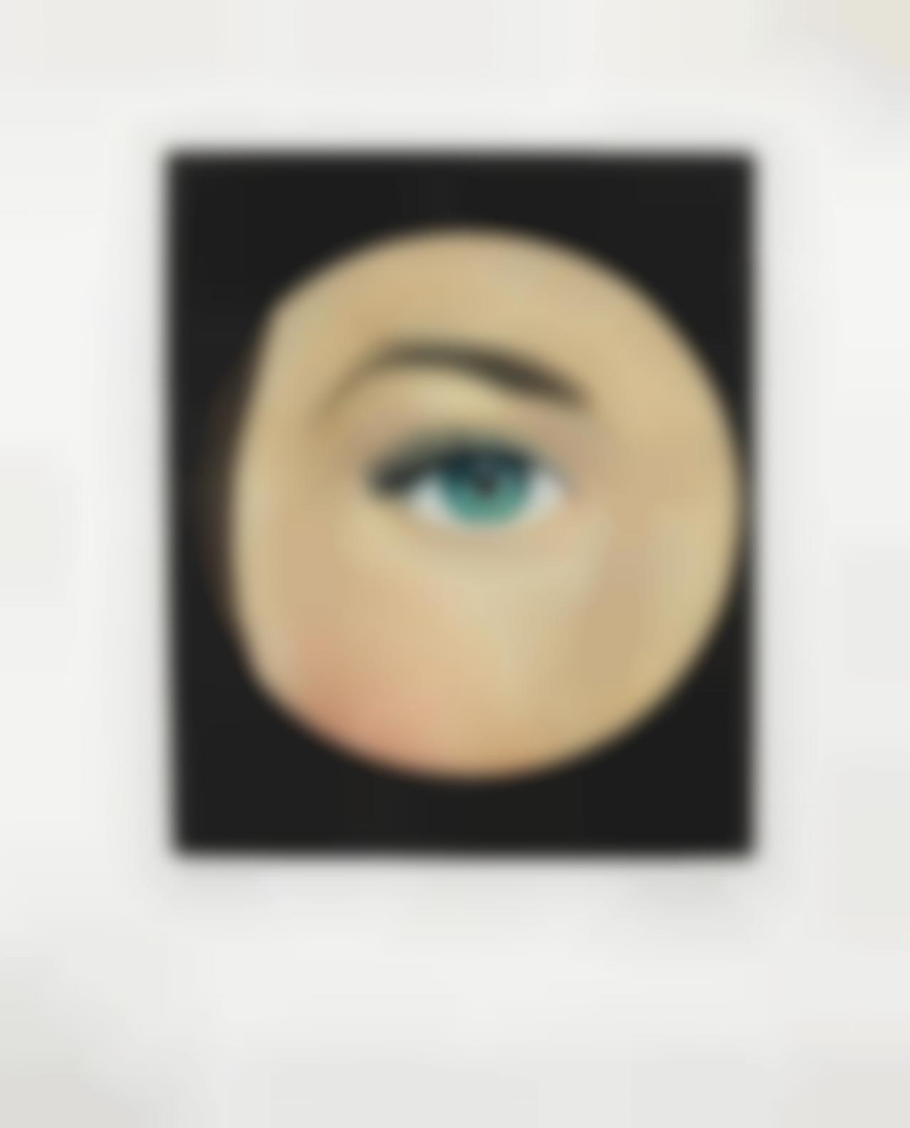 Rene Magritte-Loeil (Kaplan 17); Untitled (Kaplan 20)-1968