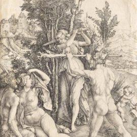 Albrecht Durer-Hercules At The Crossroads (Bartsch 73; Meder, Hollstein 63; Schoch, Mende And Scherbaum 22); Saint Jerome in his Study (B. 60; M., Holl. 59; S.M.S. 70); Saint Anthony Reading (B. 58; M., Holl. 51; S.M.S. 87)-1498
