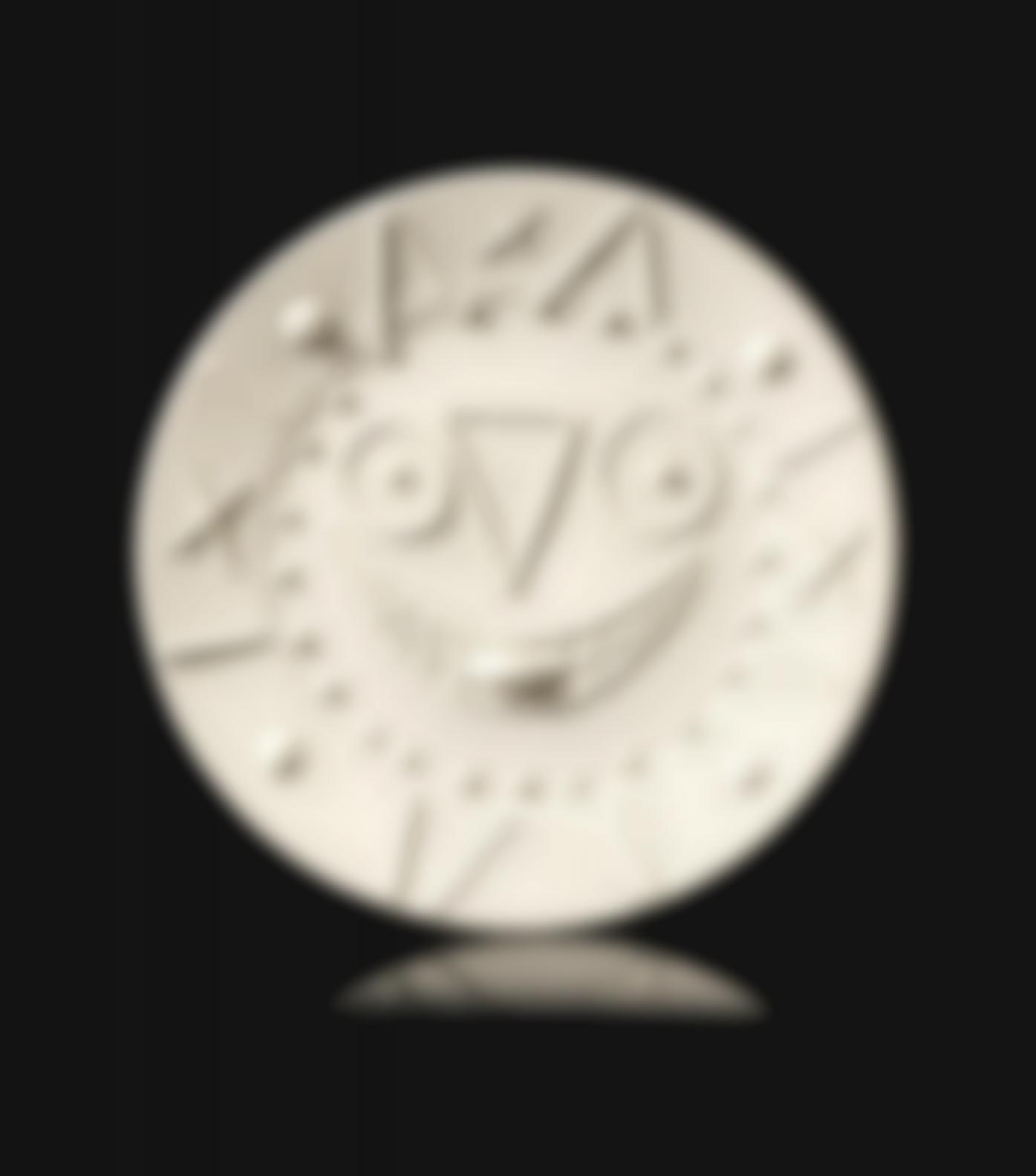 Pablo Picasso-Horloge A La Langue (Ramie 327)-1956