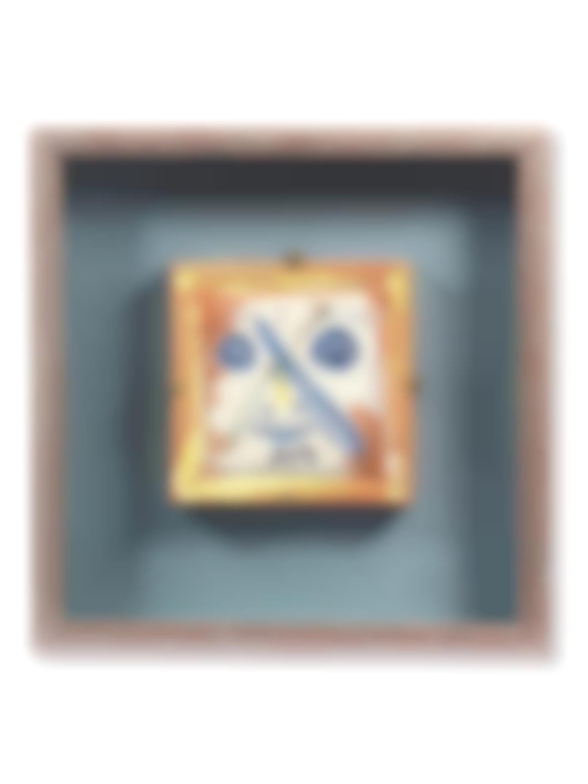 Pablo Picasso-Visage Aux Traits En X (Ramie 556)-1968