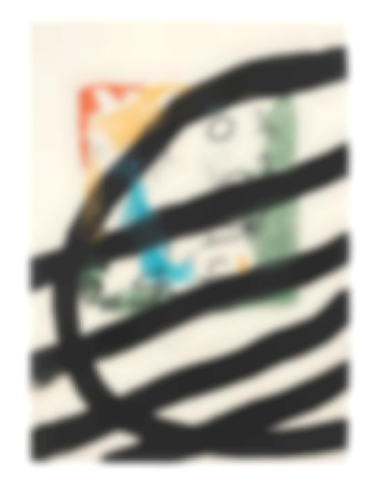 Joan Miro-One Plate, From Les Essences De La Terra (Mourlot 574; Cramer Books 123)-1968