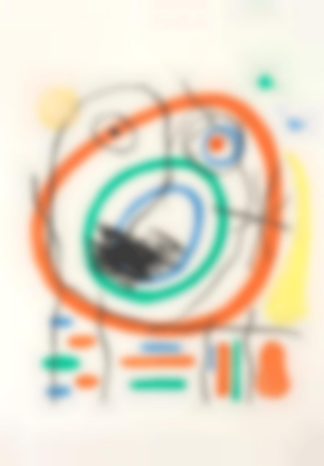 Joan Miro-Prophete Encercle (Dupin396)-1965