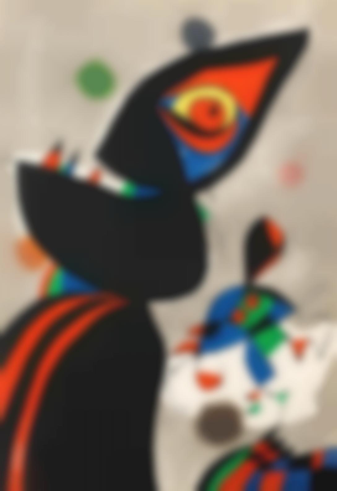 Joan Miro-Gaudi XVII (Dupin 1076)-1979