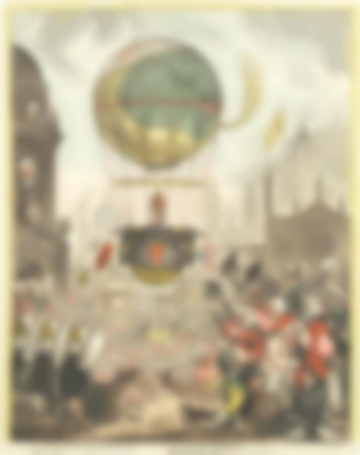 James Gillray-Tentanda Via Est Qua Me Quoque Possim Tollere Humo-1810
