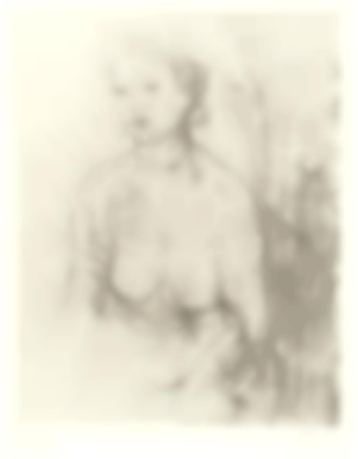 Henry Moore-Girl Ii, From Nudes (Cramer 406)-1976