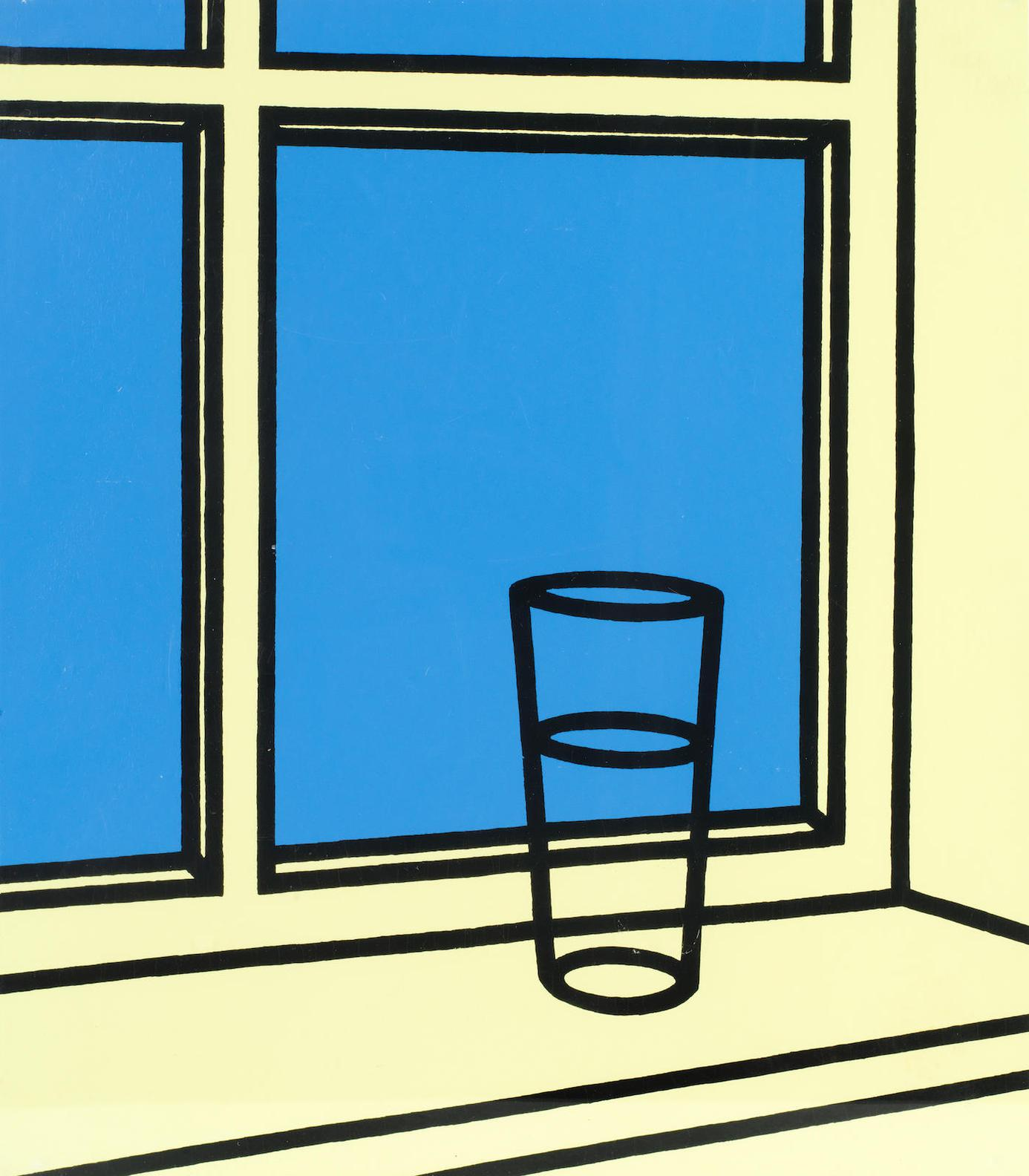 Patrick Caulfield-Oh Helen, I Roam My Room, From Some Poems Of Jules Laforgue (Cristea 38O)-1973