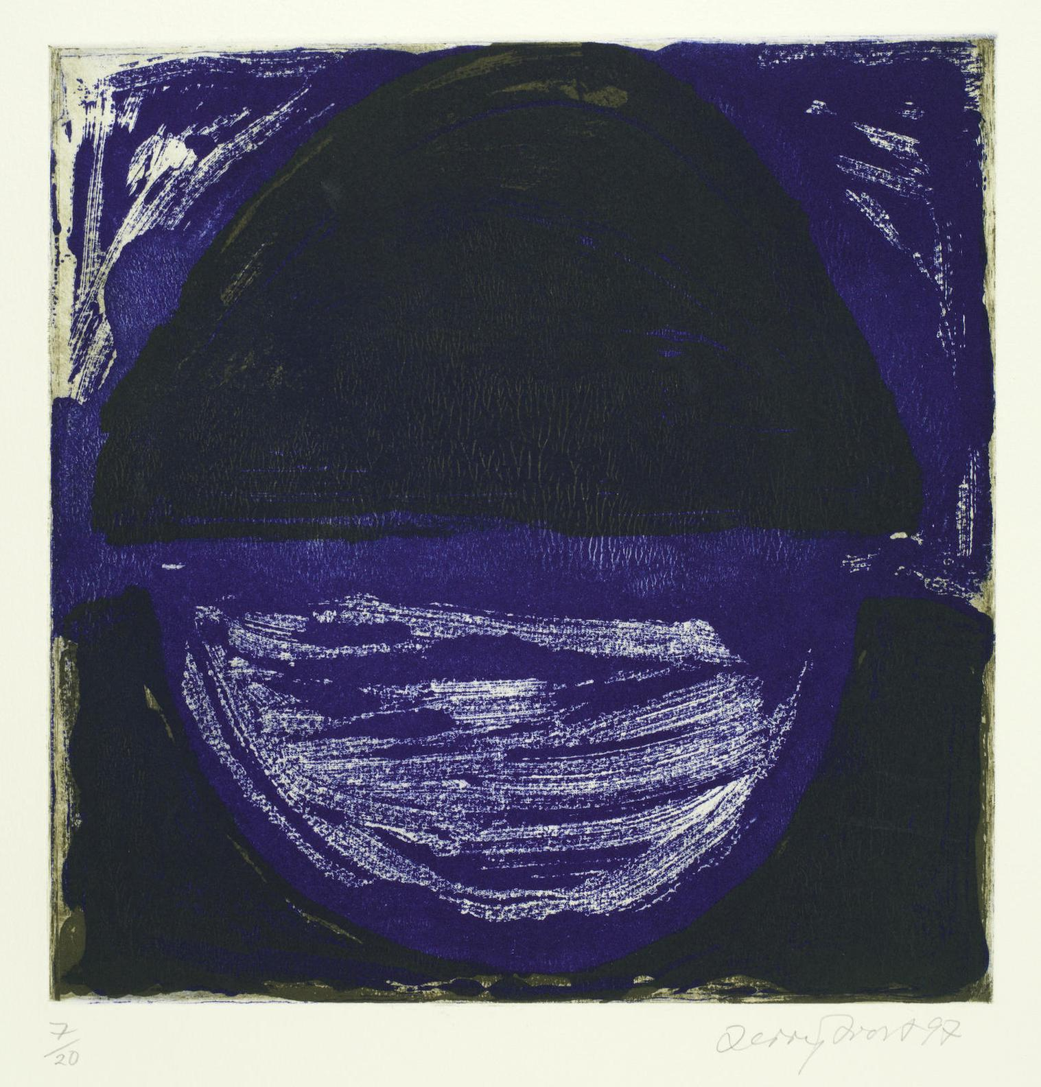 Sir Terry Frost - Madron Blue Ii, From Madron Blue Suite (Kemp 162)-1997
