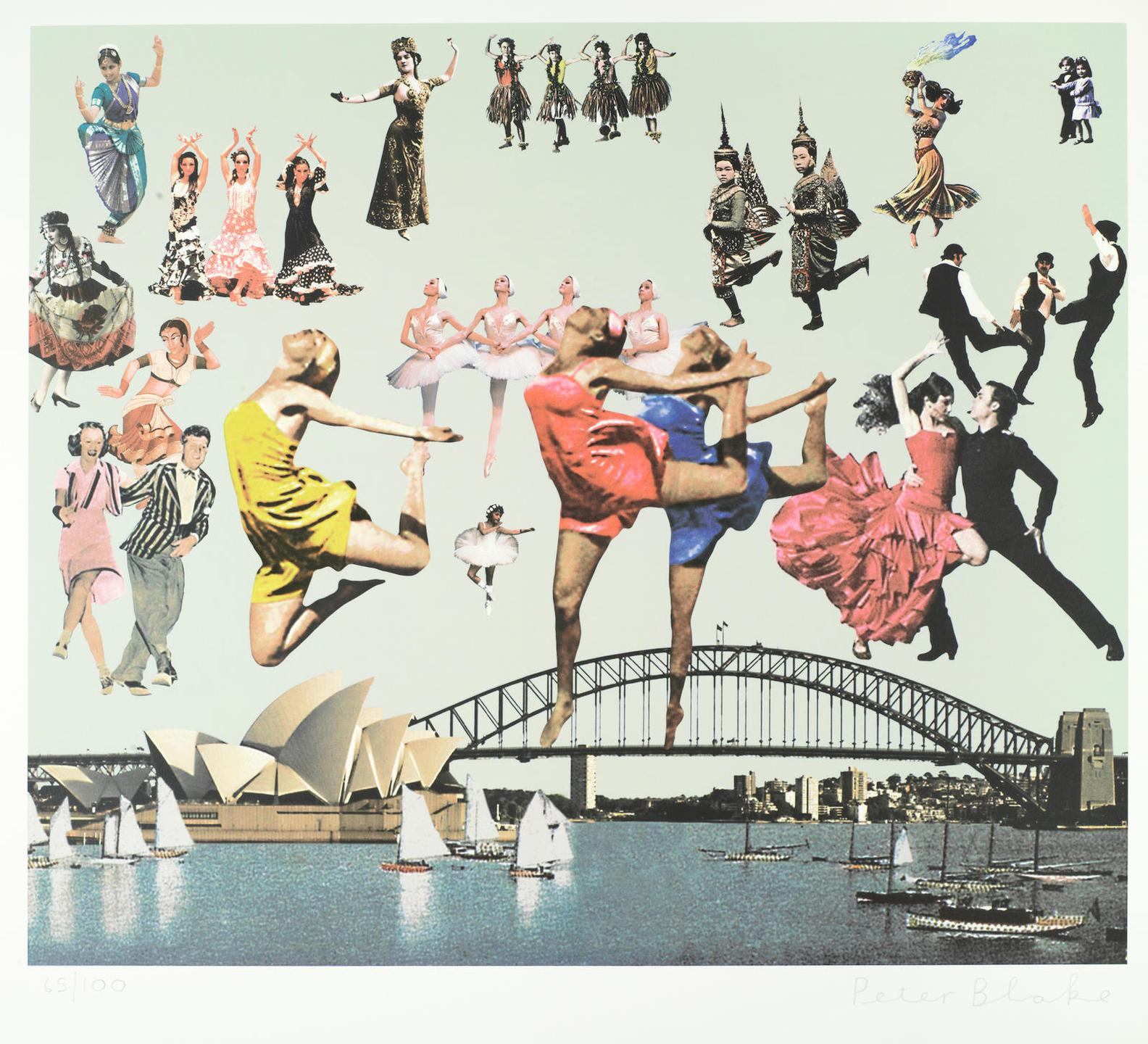 Sir Peter Blake - Sydney, From Australian Suite-2014