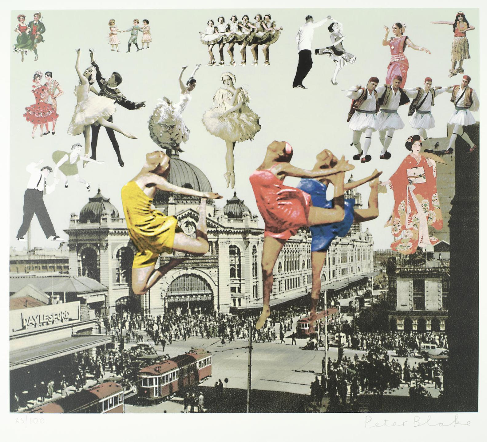 Sir Peter Blake - Melbourne, From Australian Suite-2014