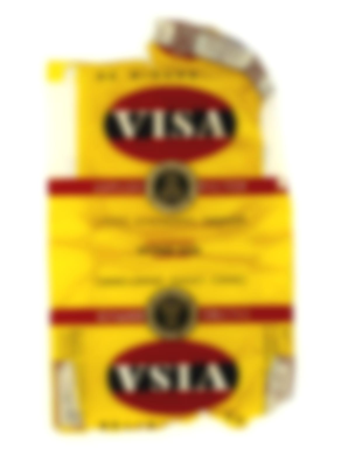 Sir Peter Blake - Fag Packets (Visa, La Ronde, Fifth Avenue And Boule)-2005