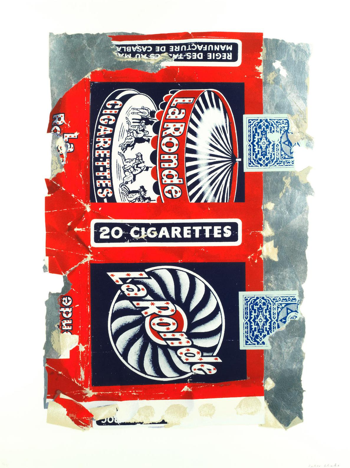 Sir Peter Blake - Fag Packets (La Ronde)-2005