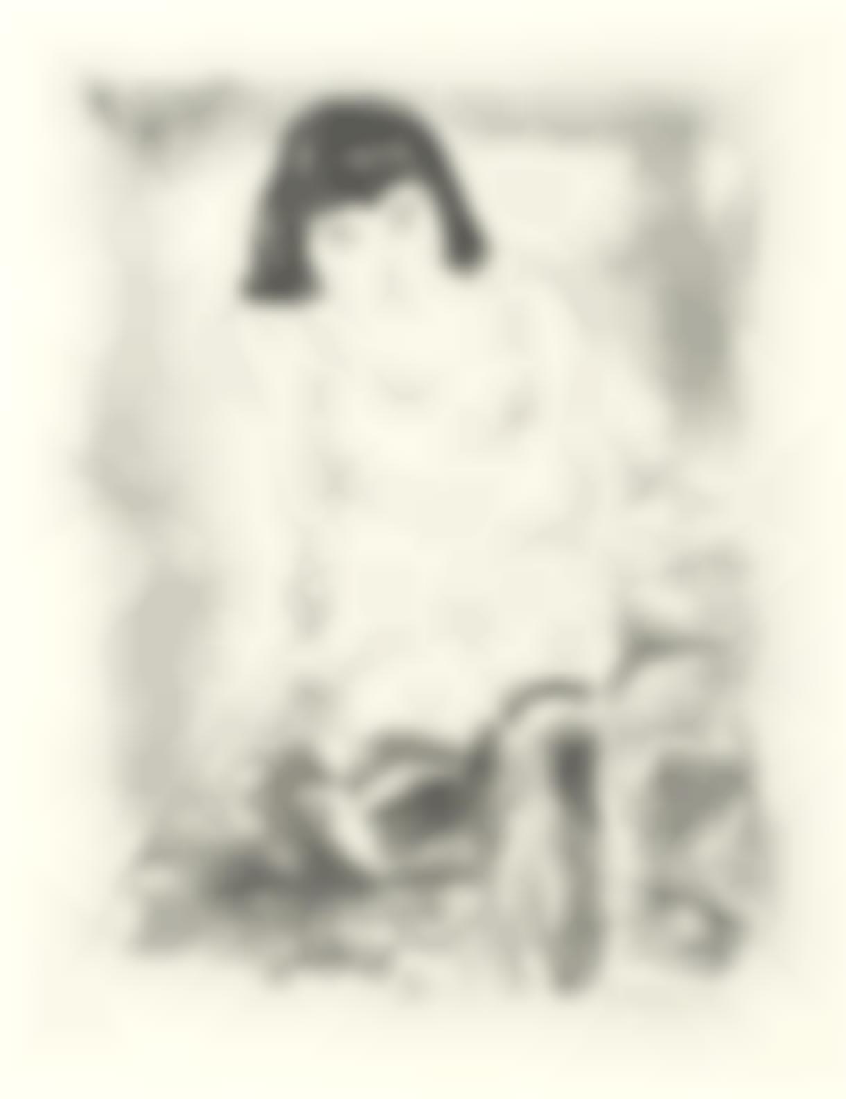 Jules Pascin-Le Lever. Femme En Deshabille, From Album Des Peintres-1924