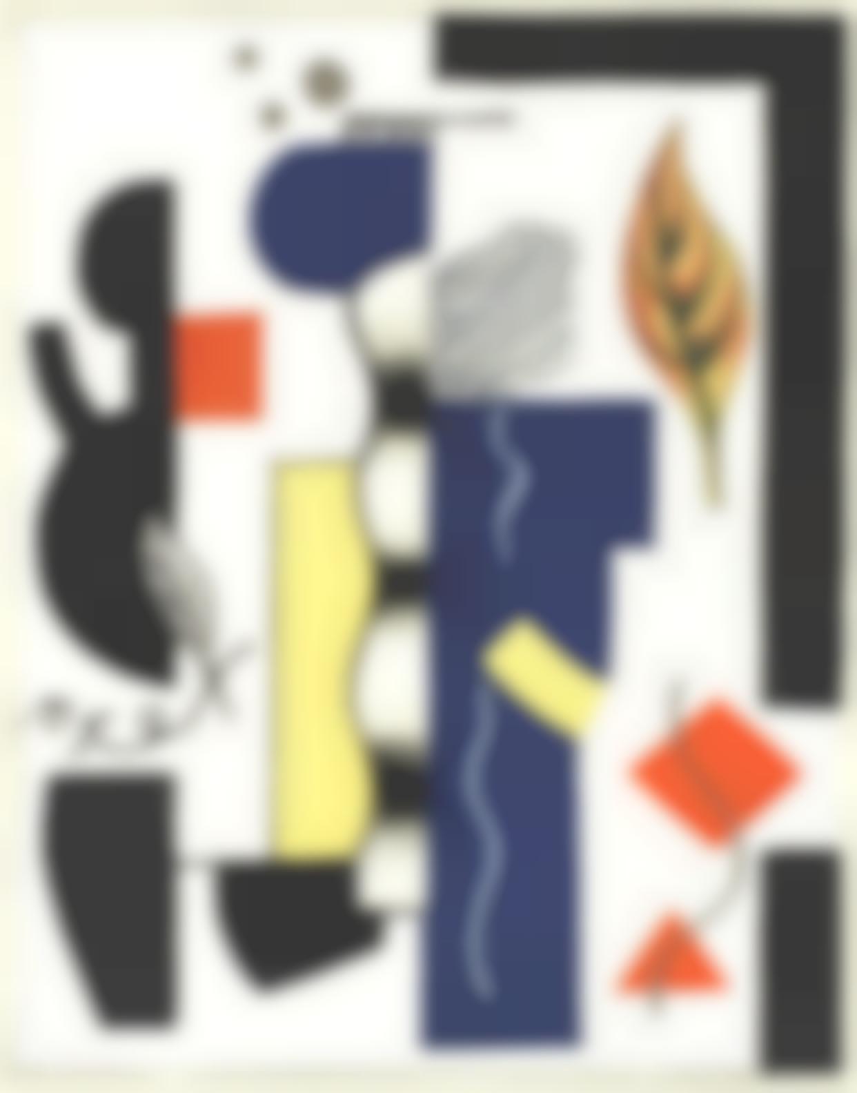 Fernand Leger-Fernand Leger - Les Grands Peintres Dauhourdhui, Volume 4-1928