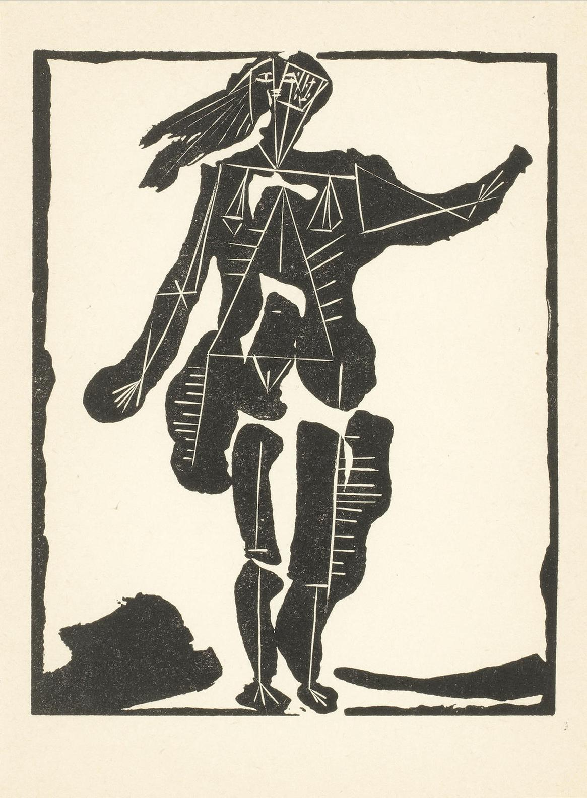 Pablo Picasso-Danseuse No.2; Femme Au Fauteuil; From Non Vouloir-1942