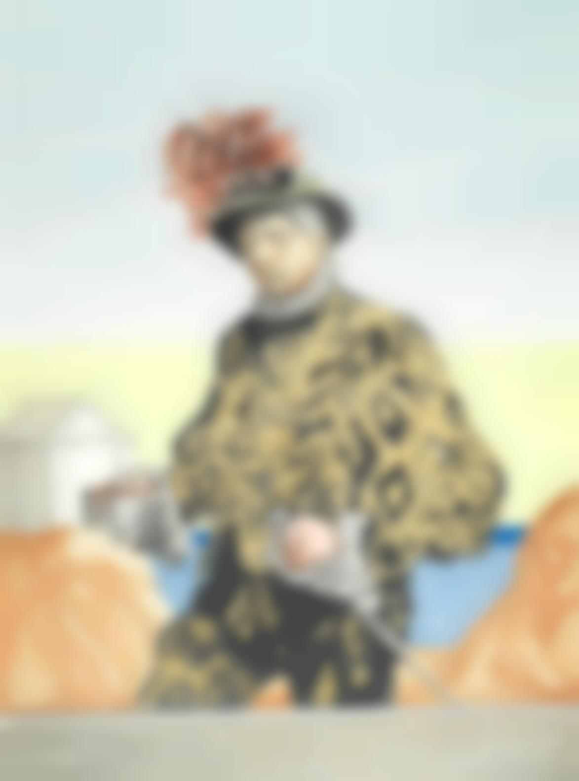 Giorgio de Chirico-Autoritratto (Brandani 158)-1972