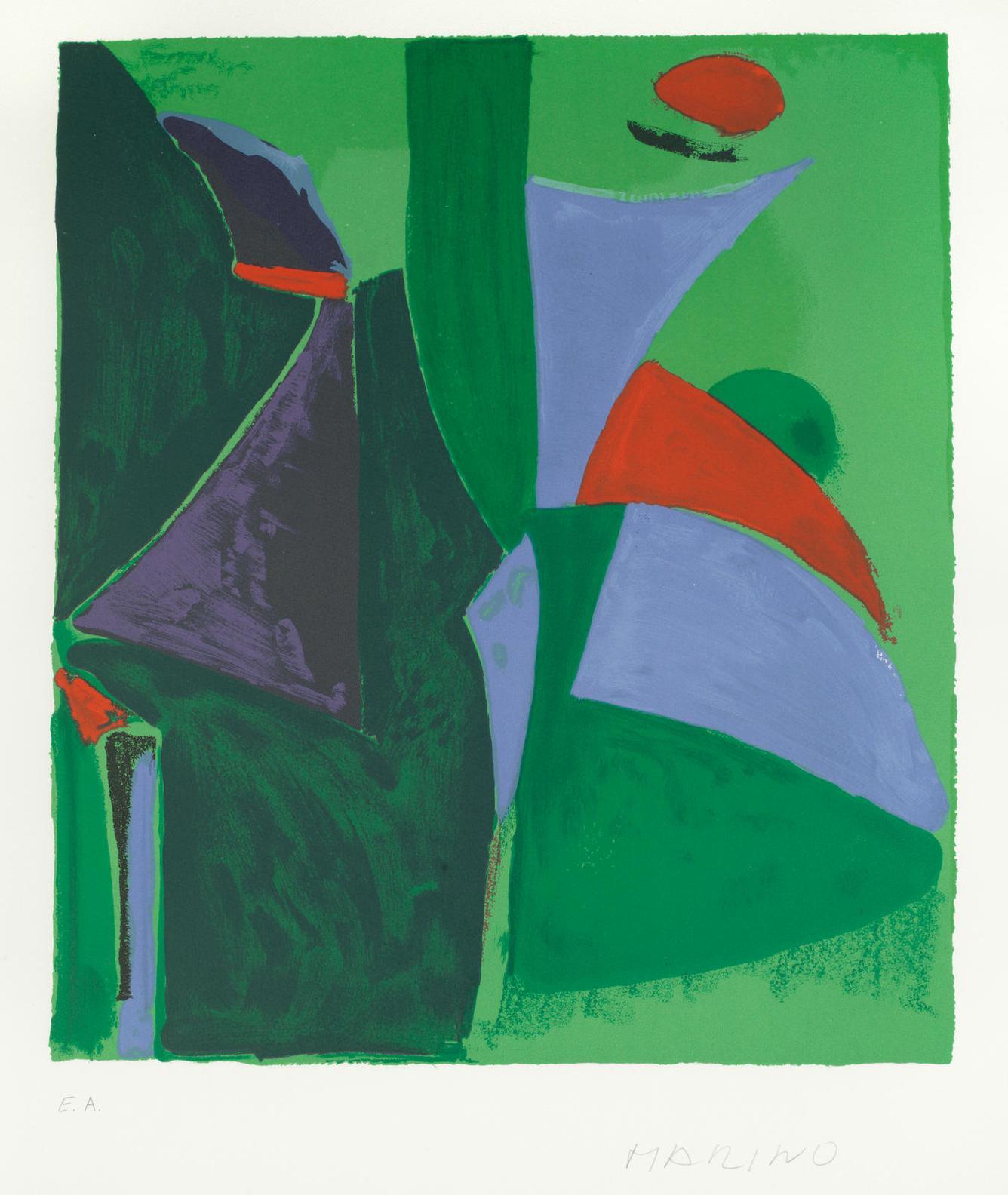 Marino Marini-Limmaginazione, From Tre Epoche E Tre Tecniche (Guastalla L129)-1978