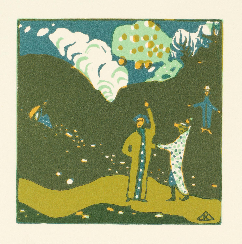 Wassily Kandinsky-Regards Sur Le Passe-1971