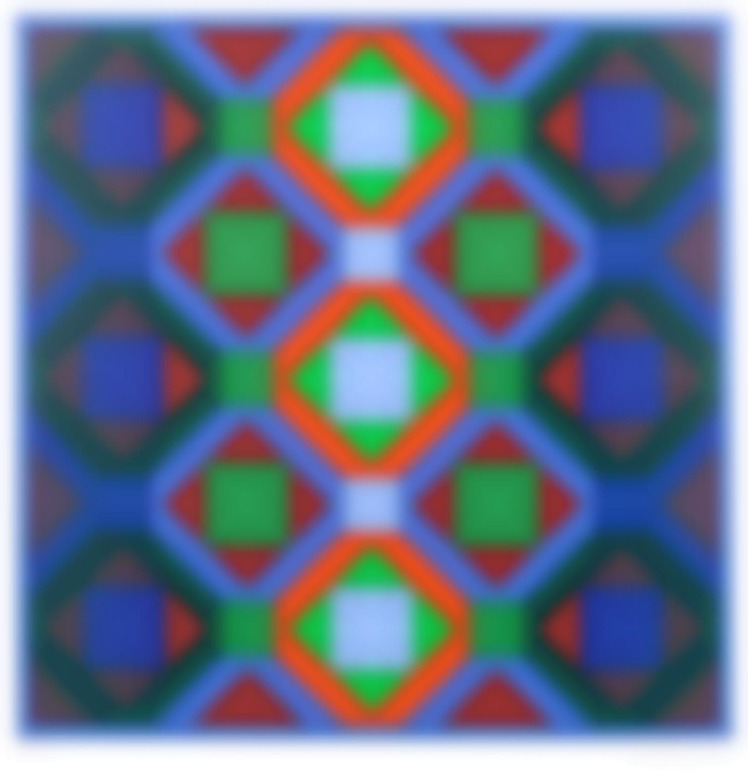 Victor Vasarely-Octagonal Structures-1969