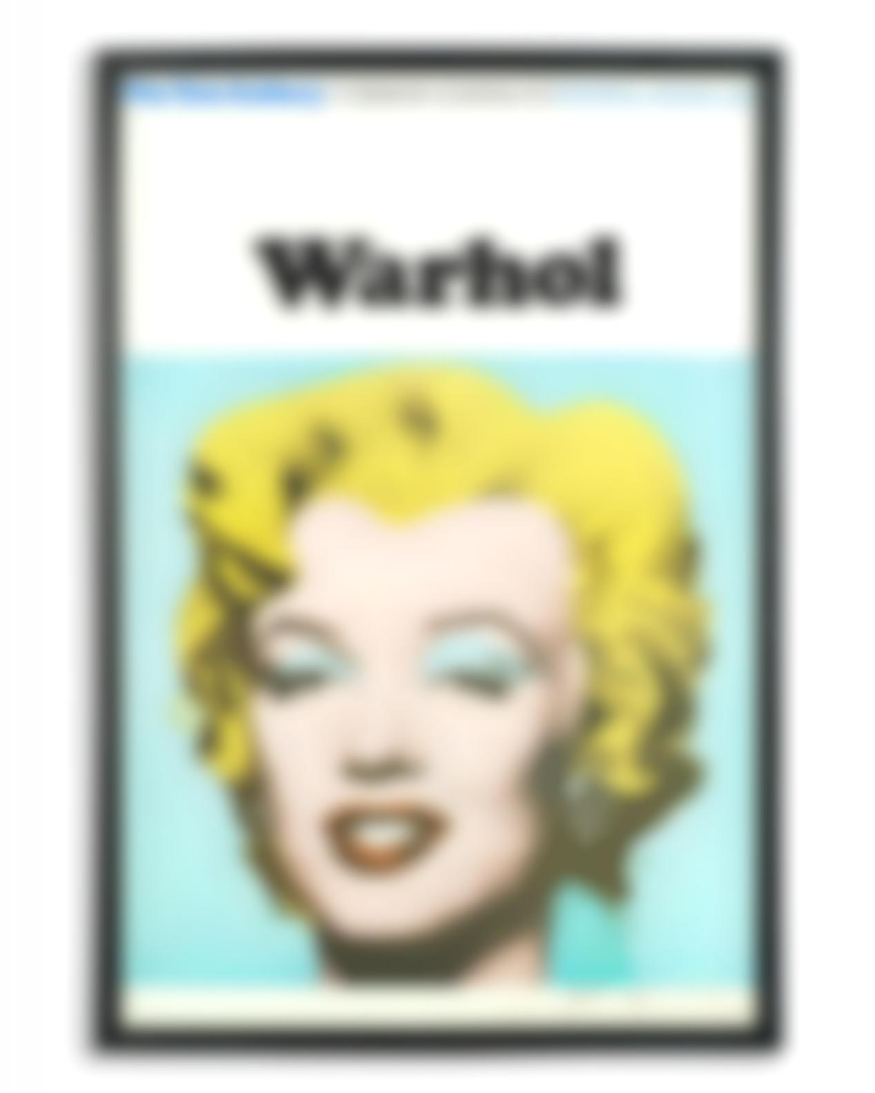 Andy Warhol-Marilyn (Exhibition Poster For Warhol: The Tate Gallery) (Not In F. &S.;)-1971