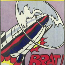 Roy Lichtenstein-After Roy Lichtenstein - As I Opened Fire (Triptych) (Corlett App.5 )-1966