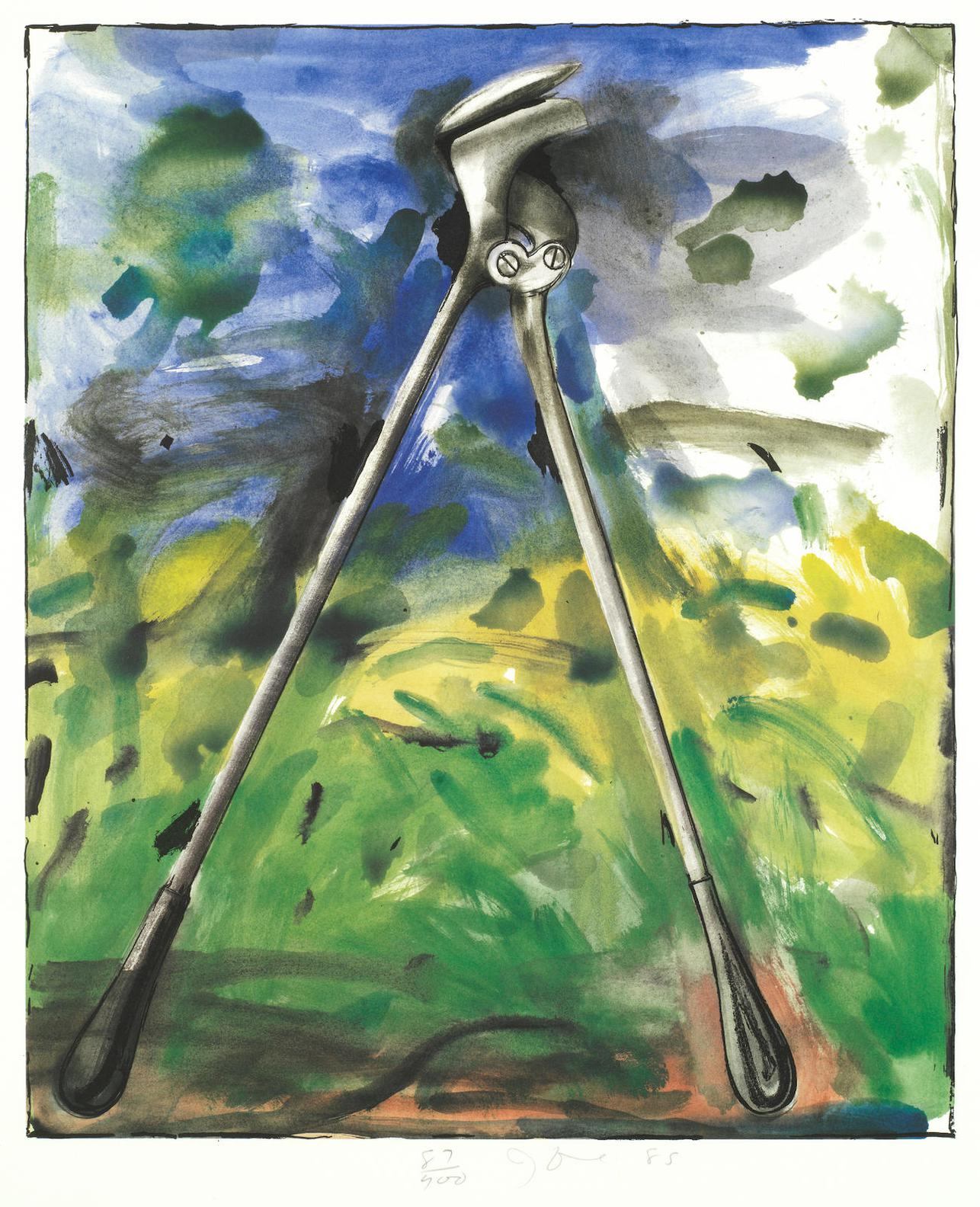 Jim Dine-The Astra Tool, From The Astra Suite-1985