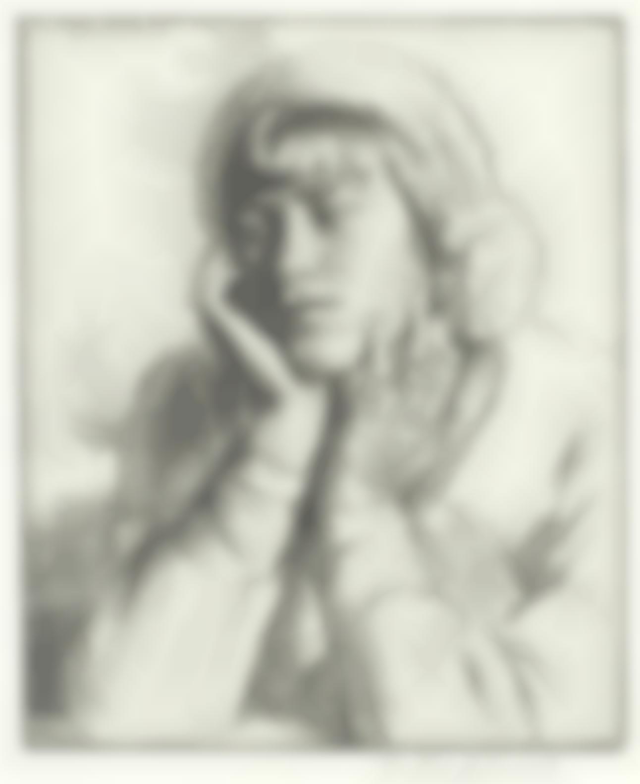 Gerald Leslie Brockhurst R.P. R.E. - Le Beguin (Fletcher33)-1922