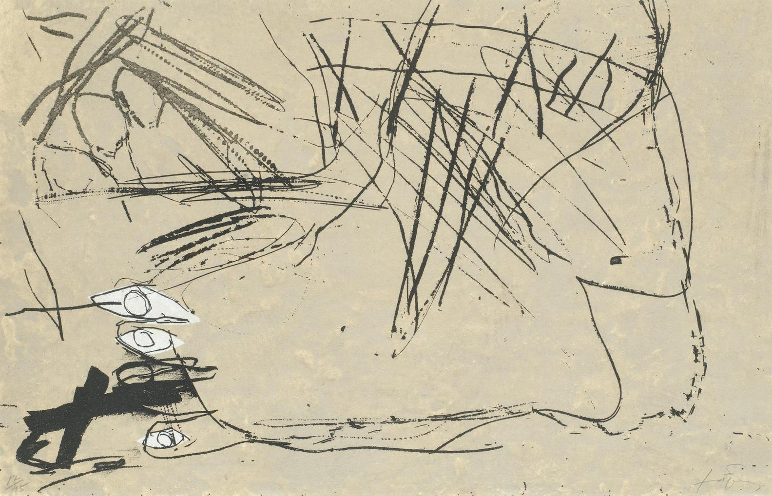 Antoni Tapies-Tres Ulls (Galfetti/Homs 1438)-1994