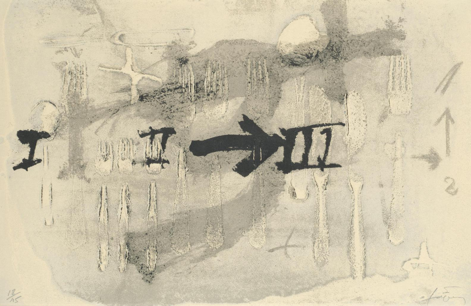 Antoni Tapies-Coberts 2 (Galfetti/Homs 1444)-1994