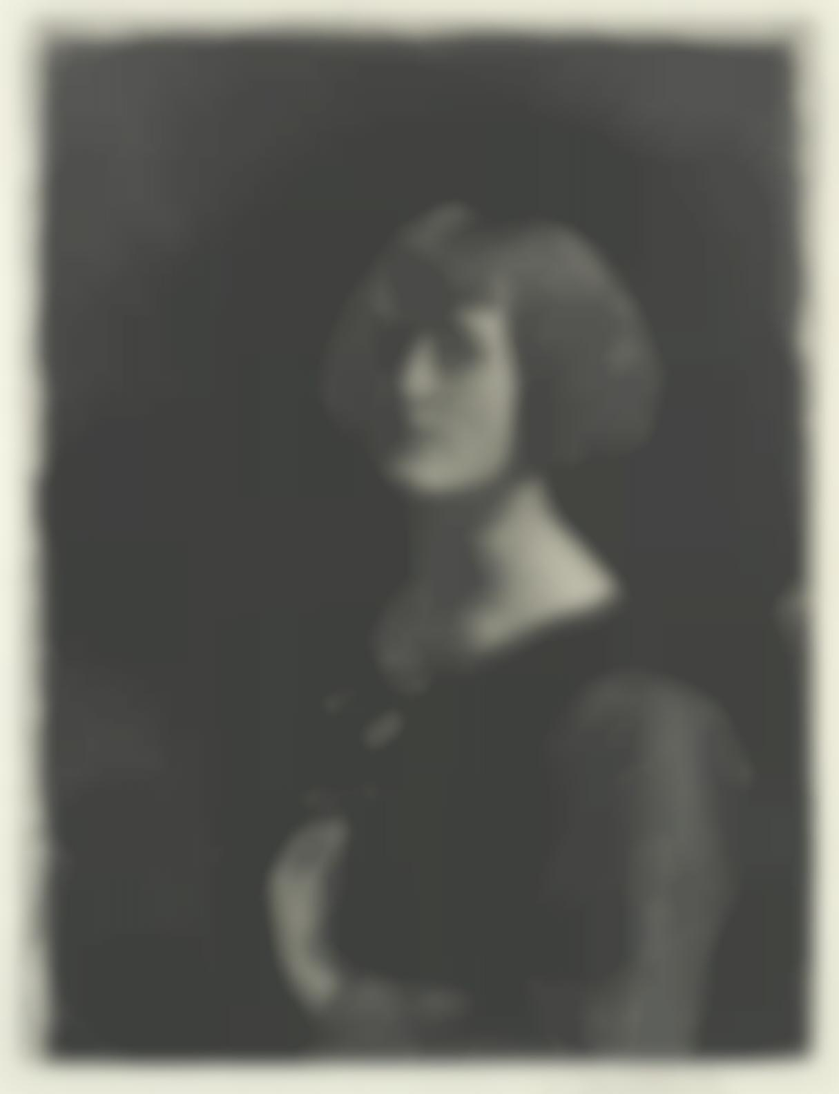 Gerald Leslie Brockhurst R.P. R.E. - Ranunculus (Fletcher25)-1922