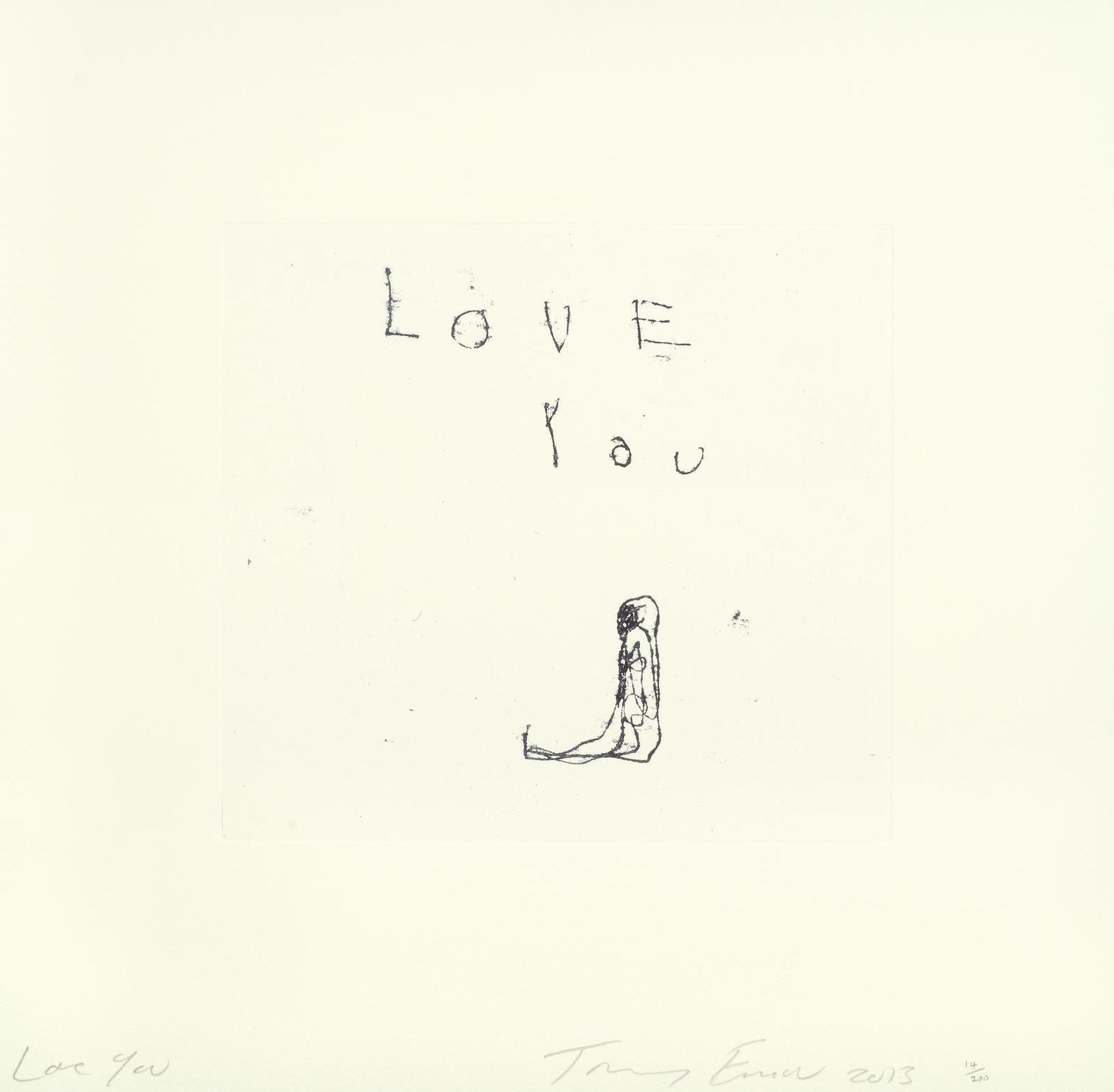 Tracey Emin-Love You-2013