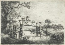 Adriaen van Ostade-A Collection Of Six Etchings (Godefroy 23, 25, 26, 30, 36)