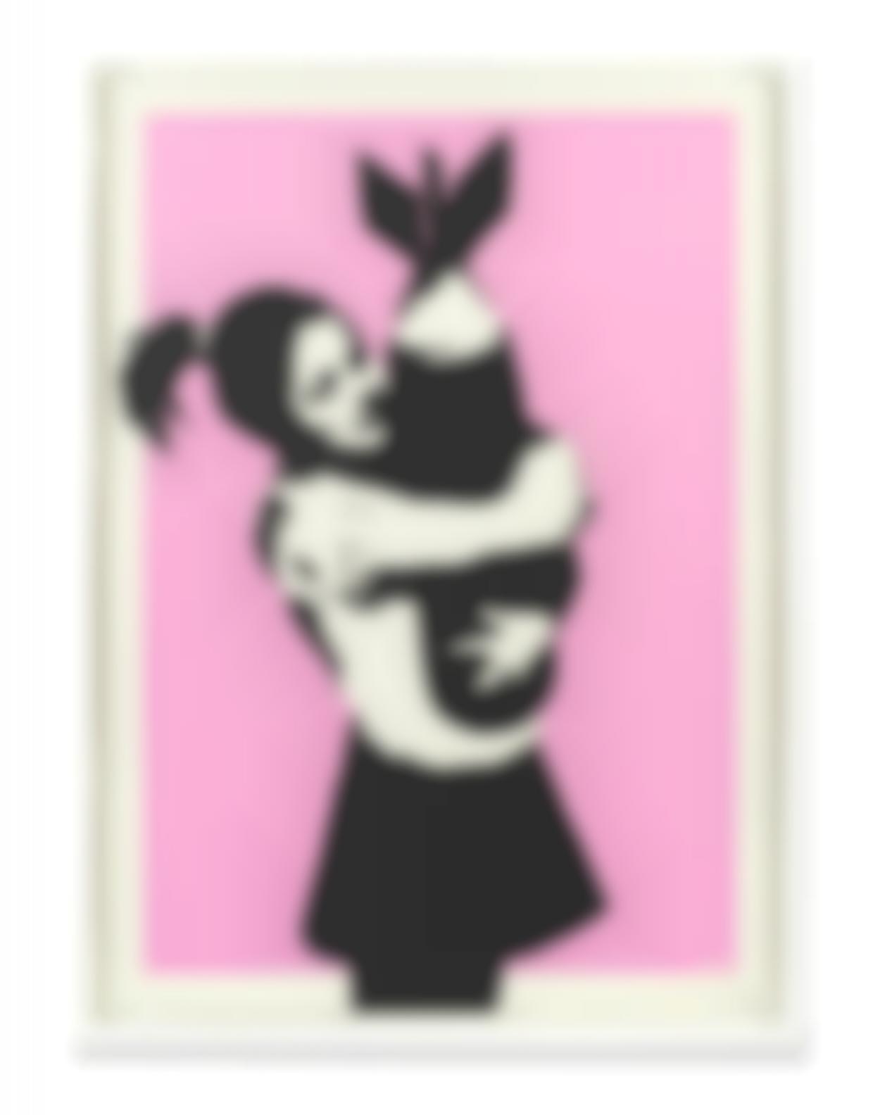 Banksy-Bomb Hugger (Bomb Love)-2004