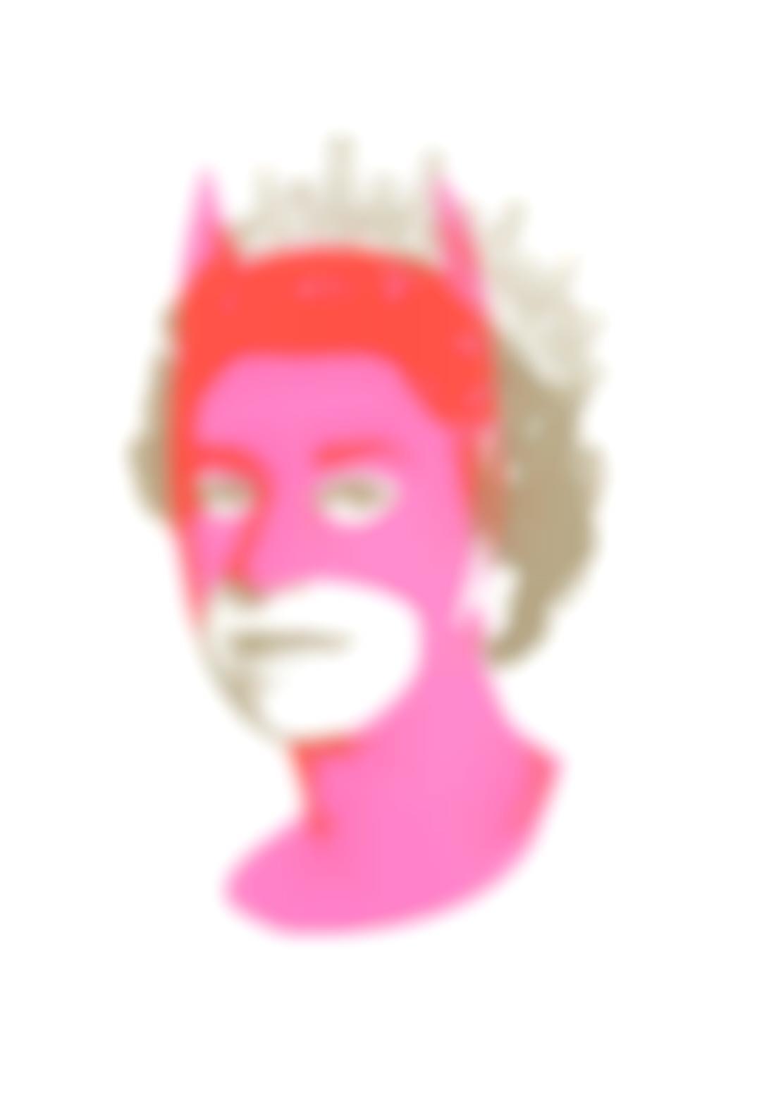 Heath Kane-Rich Enough To Be Batman - Pink And Gold-2015