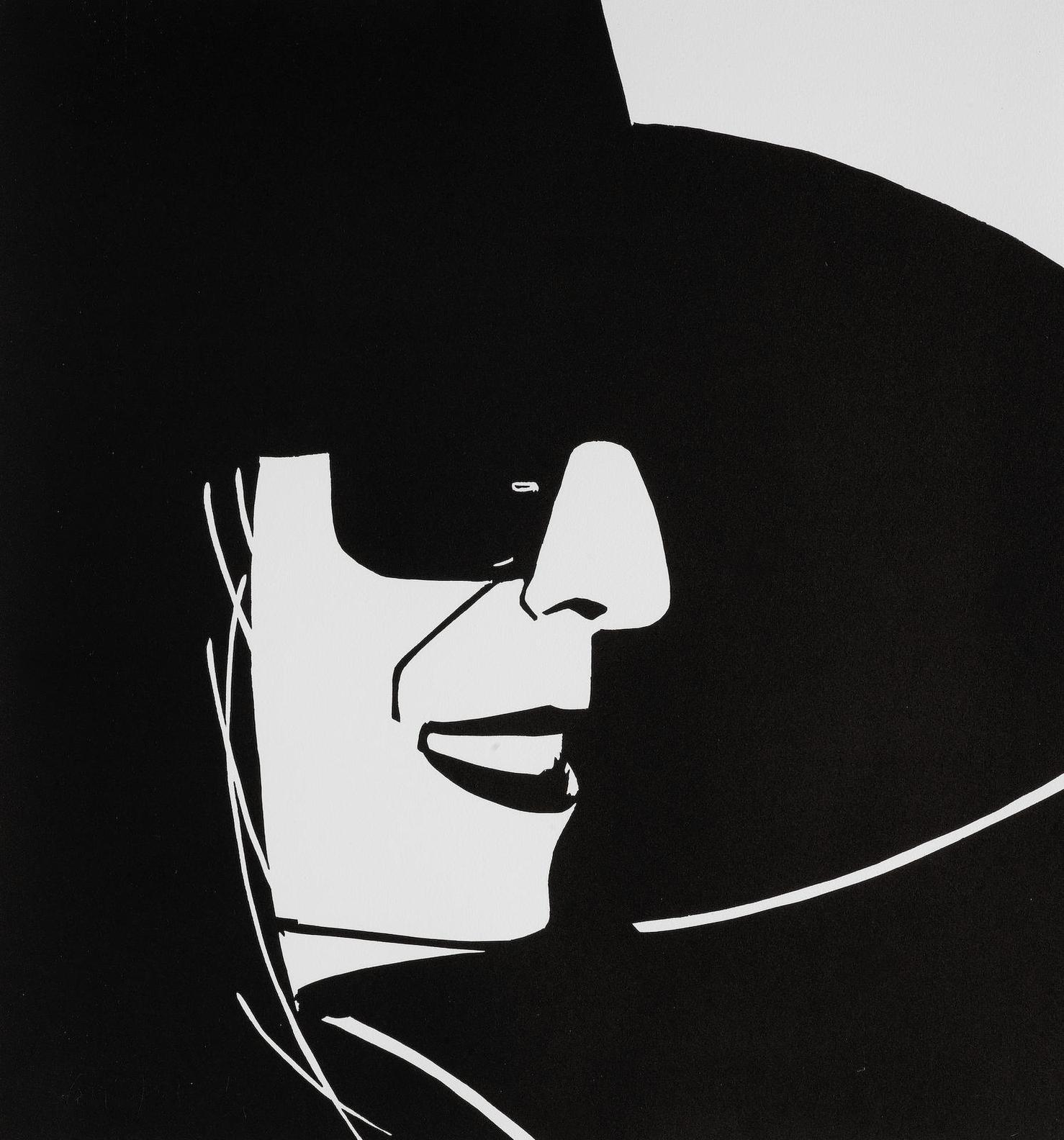 Alex Katz-Black Hat (Ada)-2012