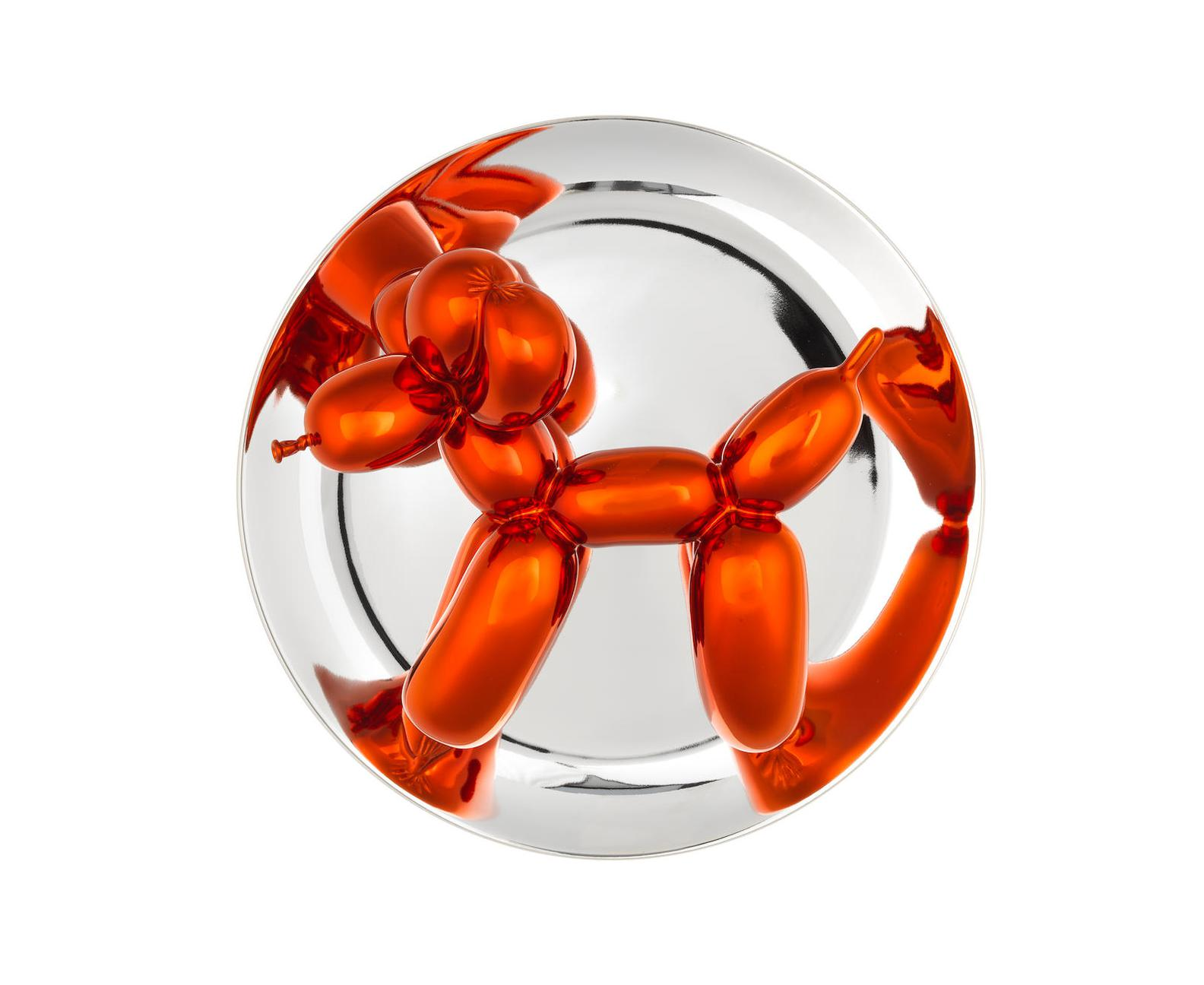 Jeff Koons-Balloon Dog (Orange)-2015