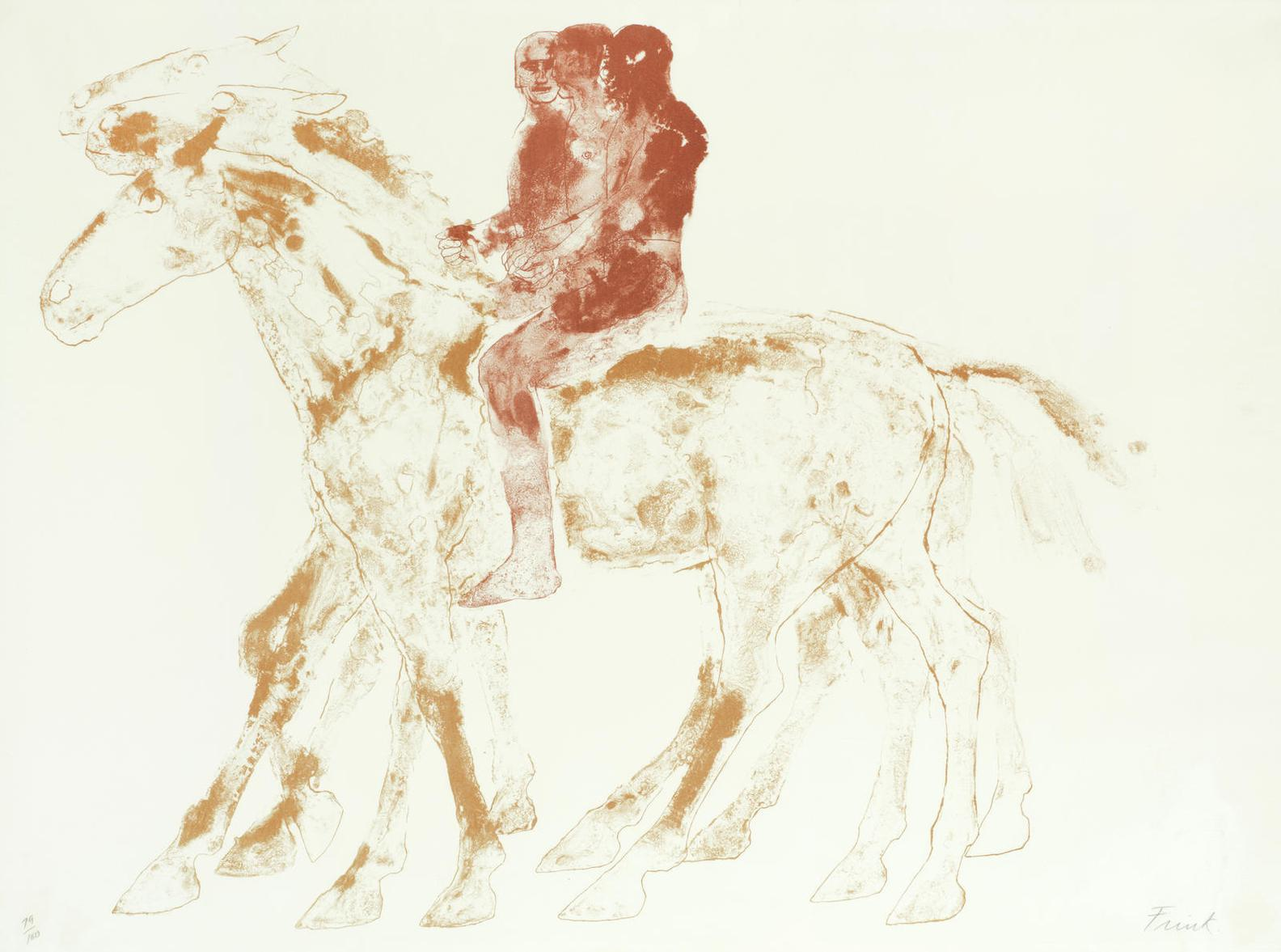 Elisabeth Frink-The Three Riders (Wiseman 105)-1974