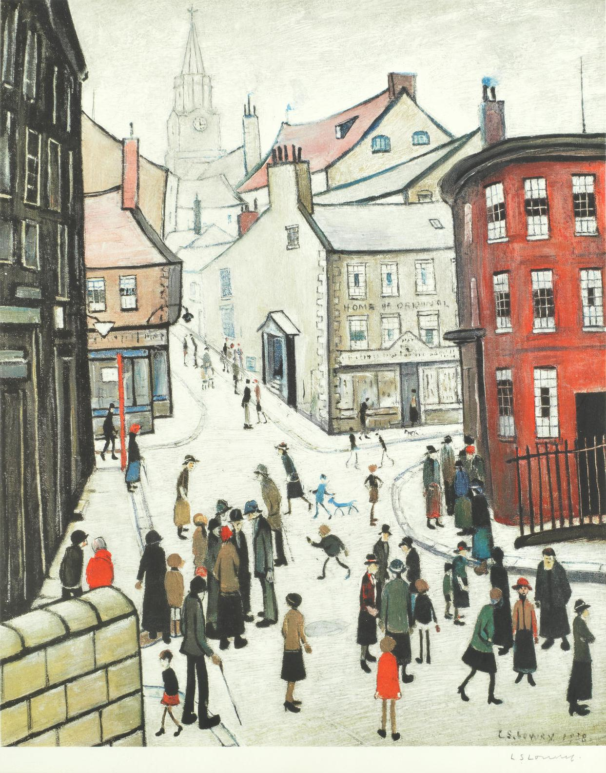 Laurence Stephen Lowry-Berwick-Upon-Tweed-1973