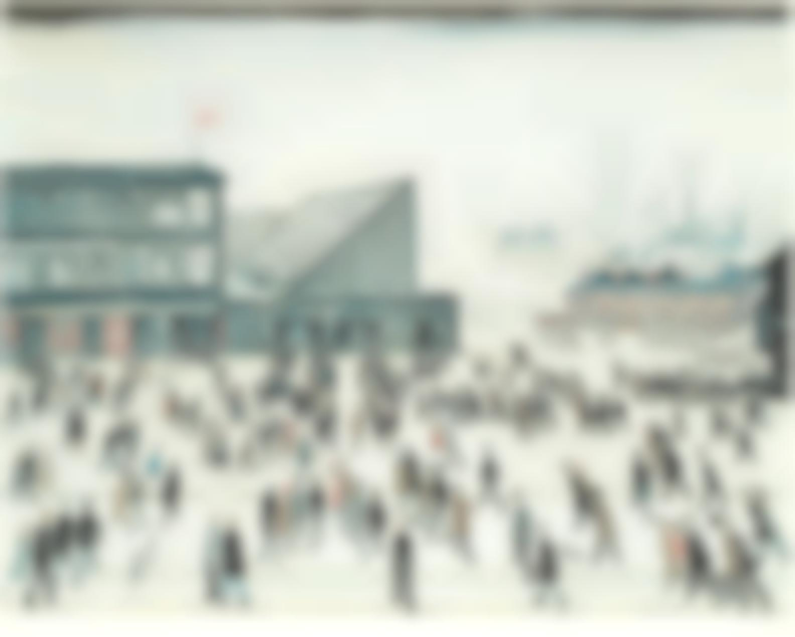 Laurence Stephen Lowry-Going To The Match-1972