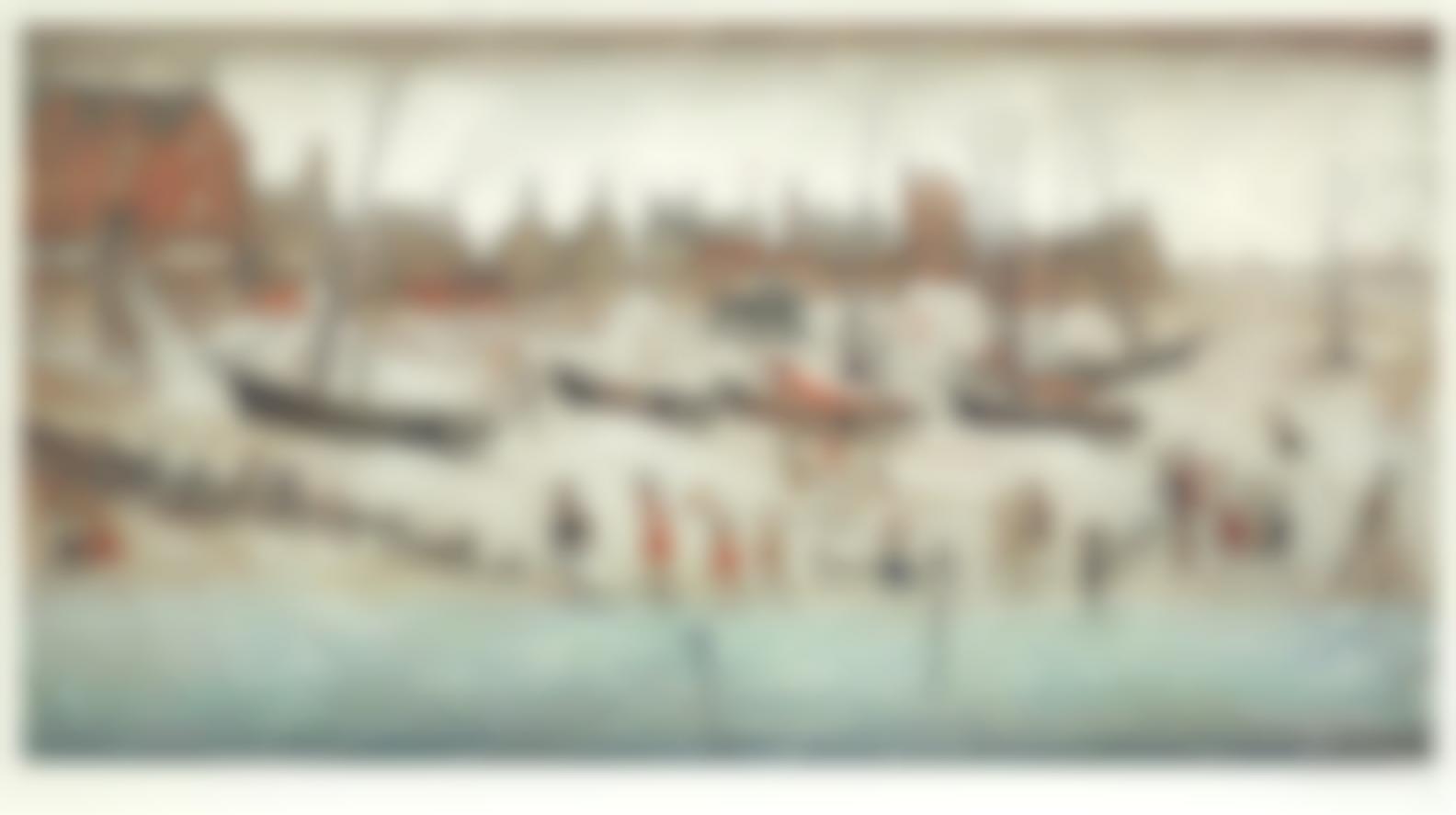 Laurence Stephen Lowry-Deal Beach; Deal Sketch-1973