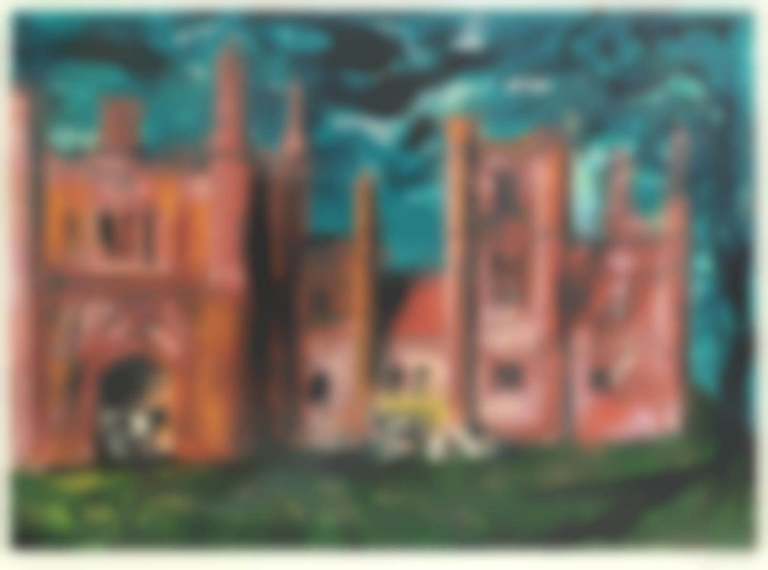 John Piper-East Barsham Manor (Levinson 320)-1981