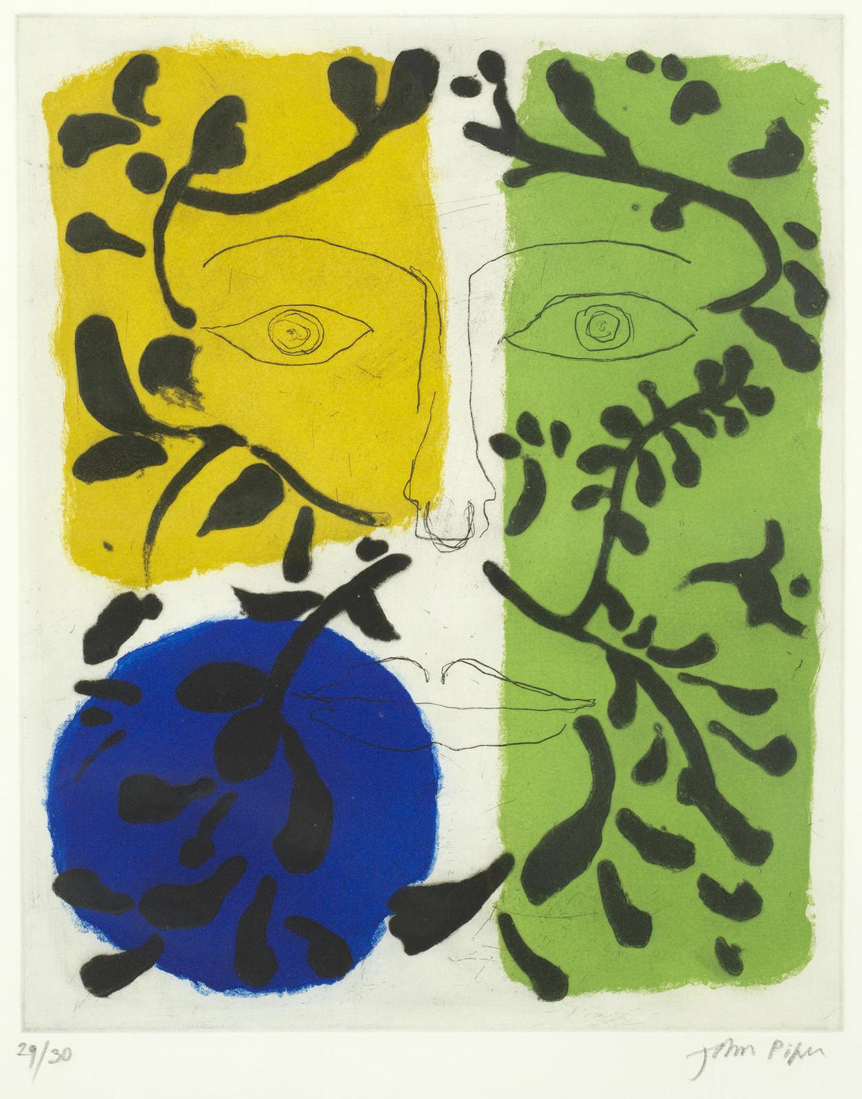 John Piper-The Seasons: Spring, Summer, Autumn And Winter (Levinson329, 330, 331, 332)-1981