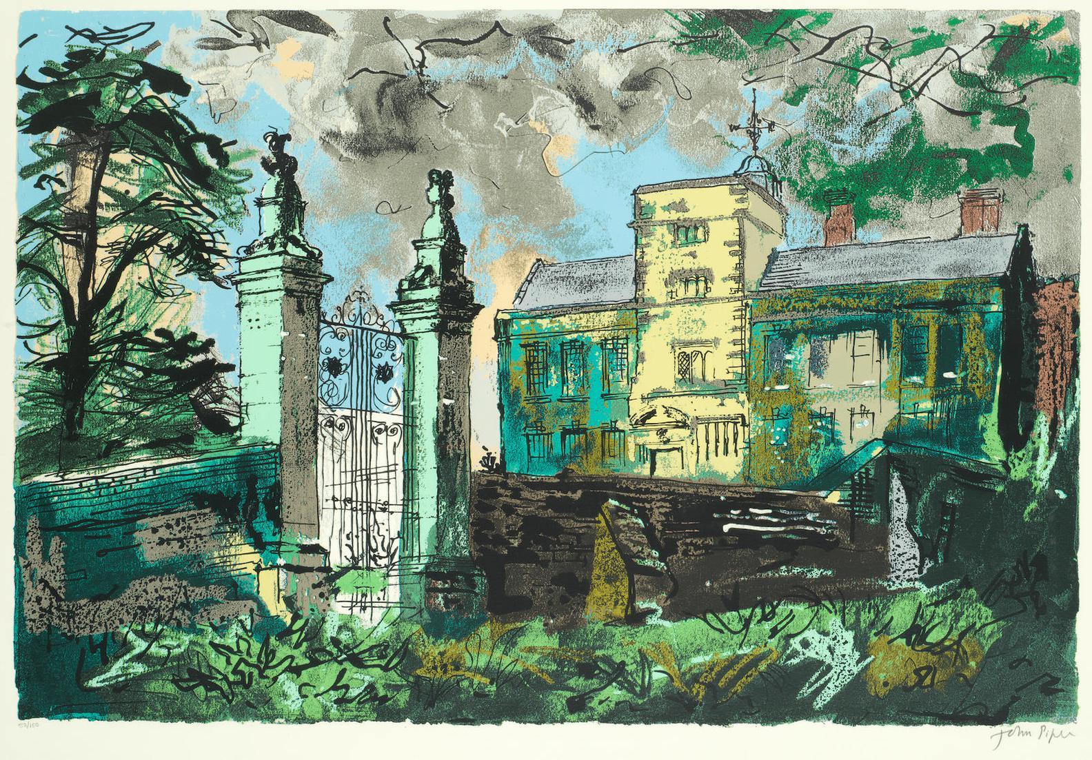 John Piper-Canons Ashby, Northamptonshire (Levinson 350)-1983