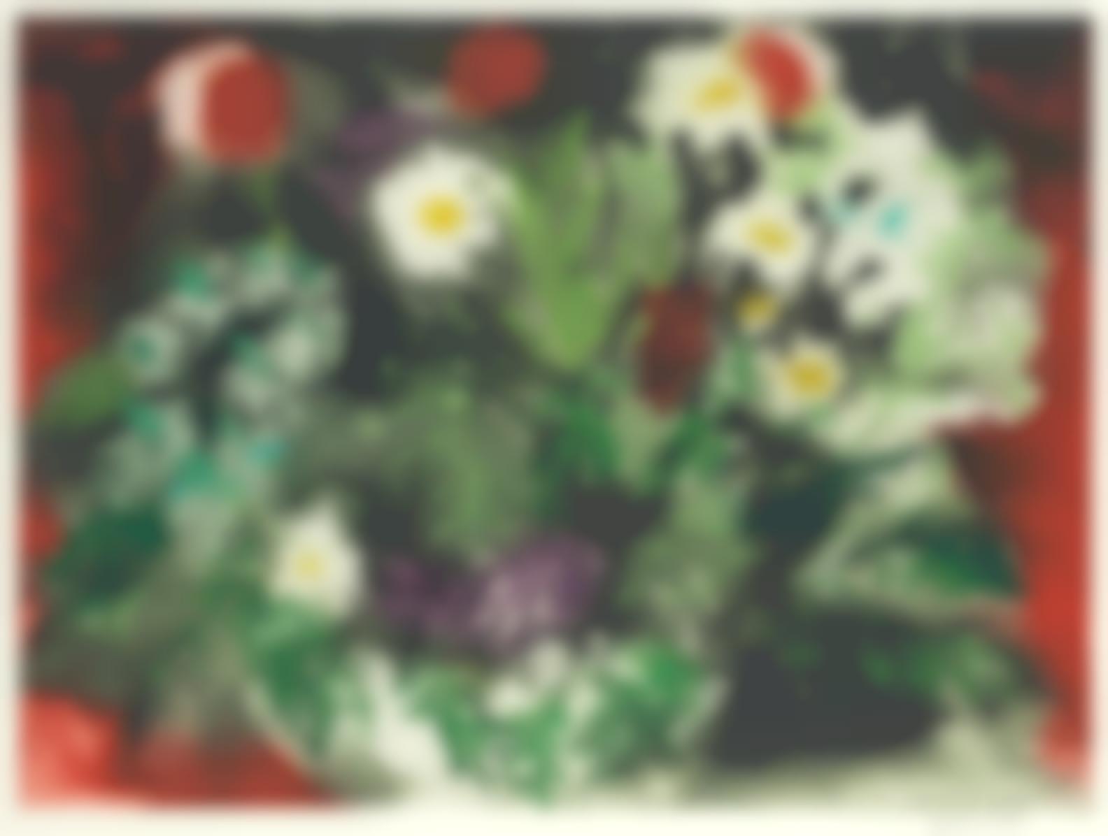 John Piper-Late Summer Flowers (Levinson 419)-1989